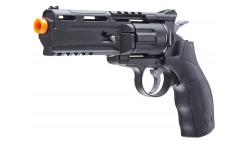 UMAREX H8R REVOLVER 6MM CO2 REVOLVER - BLACK