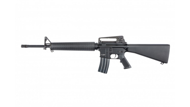 KWA M16A1 Battle Rifle Airsoft AEG w/ 120 Spring