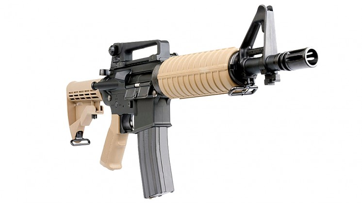 Tokyo Marui Colt M933 Commando Assault Rifle Special Edition AEG (Tan,Khaki)