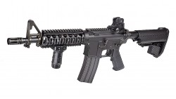 Tokyo Marui M4 CQB-R SOPMOD Assault Rifle Electric Blow Back (Black)