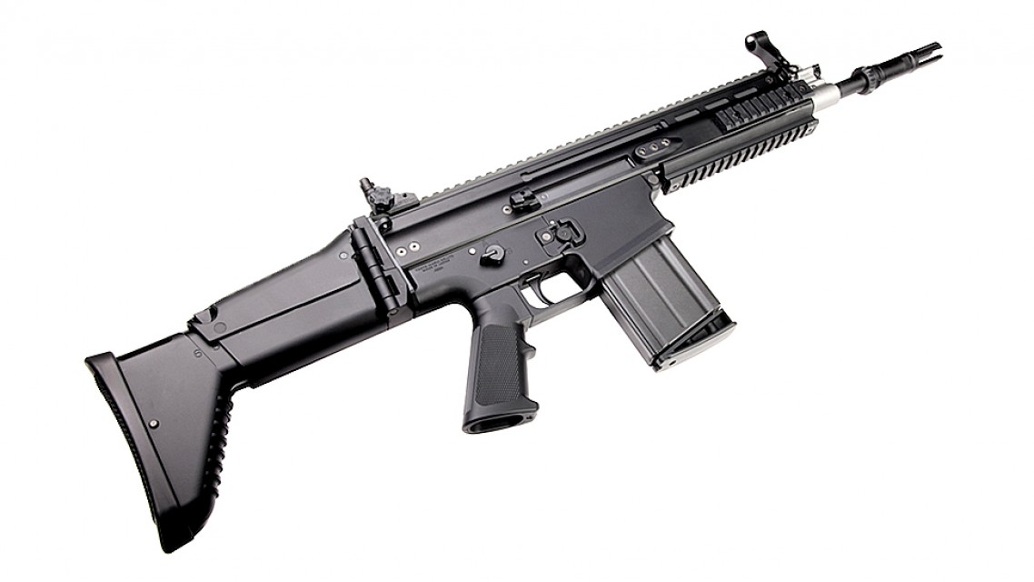 Tokyo Marui FN SCAR-Heavy MK17 Mod0 Assault Rifle Recoil ...