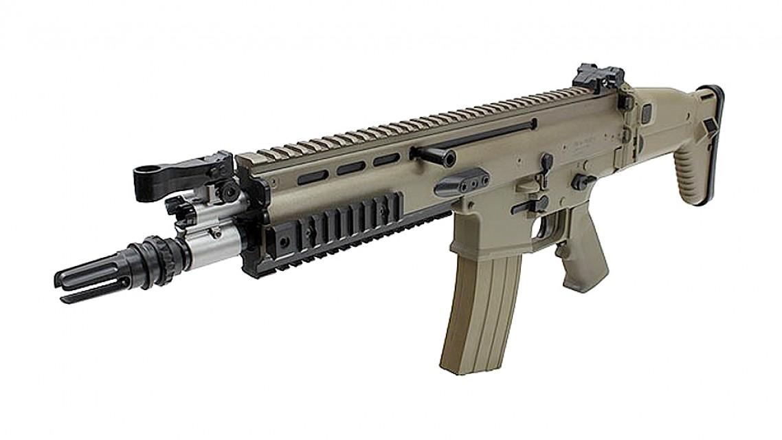 Tokyo Marui SCAR-L CQC Assault Rifle Recoil Shock AEG (FDE ...