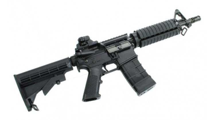 KJ Works M4 CQB Gas Blow Back Rifle (TANIO KOBA VERSION 2)